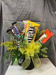 Candy Mug Bouquet From Rogue River Florist, Grant's Pass Flower Delivery