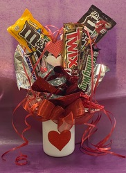 Candy Bouquet From Rogue River Florist, Grant's Pass Flower Delivery