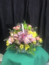 RRF Sweet Spring Basket  From Rogue River Florist, Grant's Pass Flower Delivery