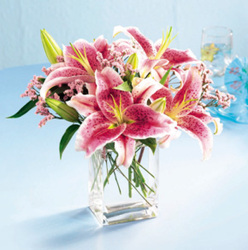 Pink Lily Bouquet From Rogue River Florist, Grant's Pass Flower Delivery