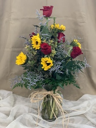 Sunshine & Love Bouquet From Rogue River Florist, Grant's Pass Flower Delivery