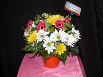 Thanks A Latte Bouquet w/Dutch Bros gift card From Rogue River Florist, Grant's Pass Flower Delivery