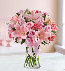 Expressions Of Pink  From Rogue River Florist, Grant's Pass Flower Delivery