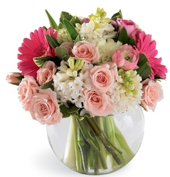 Pink Splendor Bouquet From Rogue River Florist, Grant's Pass Flower Delivery