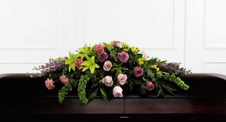 The FTD Forever Beloved(tm) Casket Spray From Rogue River Florist, Grant's Pass Flower Delivery