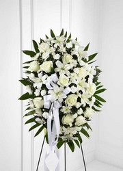 The FTD Exquisite Tribute(tm) Standing Spray From Rogue River Florist, Grant's Pass Flower Delivery
