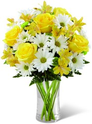 Sunny Sentiments Bouquet From Rogue River Florist, Grant's Pass Flower Delivery