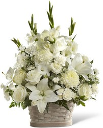 The FTD Peaceful Passage Arrangement From Rogue River Florist, Grant's Pass Flower Delivery