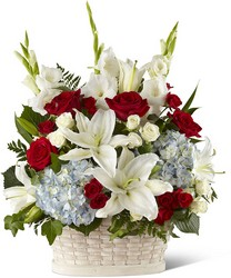 The FTD Greater Glory Basket From Rogue River Florist, Grant's Pass Flower Delivery