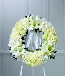 The FTD Wreath of Remembrance From Rogue River Florist, Grant's Pass Flower Delivery