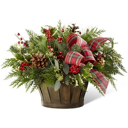 The FTD Holiday Homecomings Basket