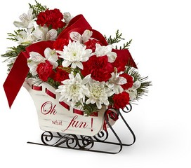 The FTD Holiday Traditions Bouquet From Rogue River Florist, Grant's Pass Flower Delivery