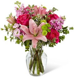 The FTD Pink Posh Bouquet From Rogue River Florist, Grant's Pass Flower Delivery