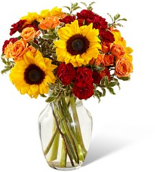 Fall Frenzy Bouquet From Rogue River Florist, Grant's Pass Flower Delivery