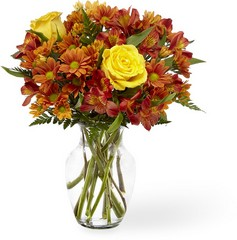 Golden Autumn Bouquet From Rogue River Florist, Grant's Pass Flower Delivery