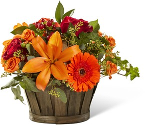 The FTD Harvest Memories Basket From Rogue River Florist, Grant's Pass Flower Delivery