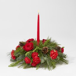 Holiday Classics Centerpiece From Rogue River Florist, Grant's Pass Flower Delivery
