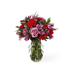 The FTD In Bloom Bouquet From Rogue River Florist, Grant's Pass Flower Delivery