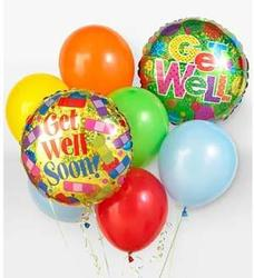 Get Well Balloon Bouquet From Rogue River Florist, Grant's Pass Flower Delivery